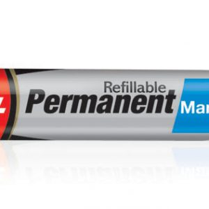 Luxor Refillable Permanent Marker Pen # 1222(Blue)(Pack of 10)