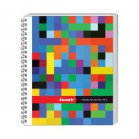 Bound Spiral 44 Unruled Notebook #20578