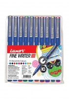 Luxor Finewriter #942 (Assorted color)set of 10 PCS