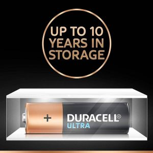 Duracell AA 8BL Ultra Alkaline AA Batteries Battery with Duralock Technology- Pack of 8 Pieces – SKU: 5005404 | Buy Bulk Online