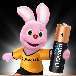 Duracell Ultra Alkaline AA Batteries Battery with Duralock Technology- Pack of 4