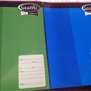 Saathi Note Book – A4, 148 Pages, Unruled, Soft Cover