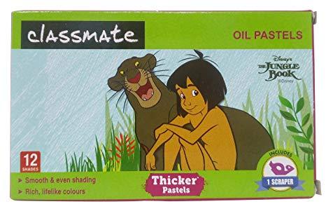 Classmate Oil Pastels Regular 12 Shades