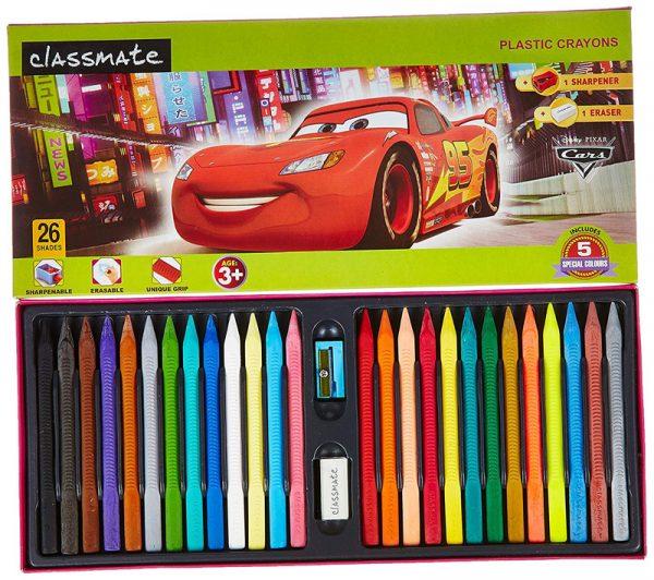 Plastic Crayons 16 shades