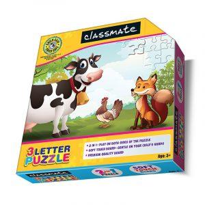 Classmate 3 Letter Puzzle