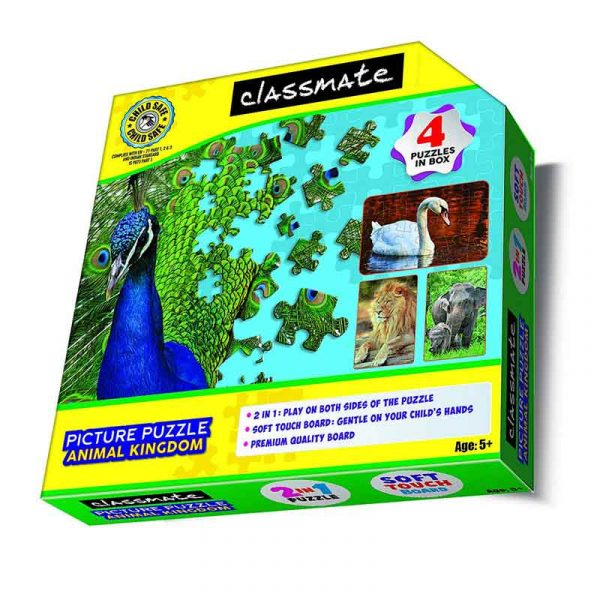 classmate kids picture puzzle animal kingdom sku 4060005 authorized distributors wholesaler bulk order shop buy online supplier best lowest price dealers in kerala south india stockist
