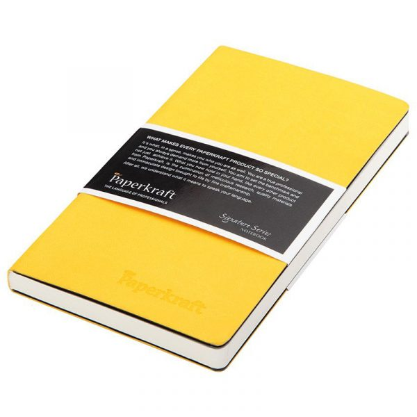 Classmate Paperkraft Signature Series Yellow Cover