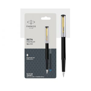 Parker Beta Premium Refillable Fountain Pen with Gold Trim