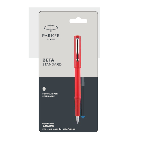 Parker Beta Standard Refillable Fountain Pen Authorized Distributor Wholesaler Retailer Bulk Order Buy Shop Online Supplier Dealers In Kerala South India