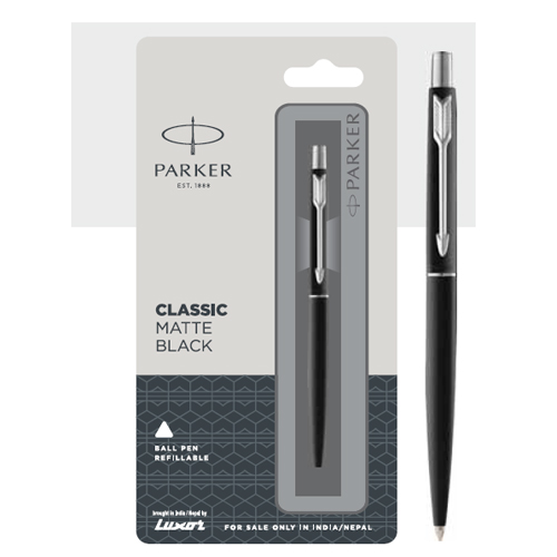 Parker Classic Matte Ball Pen With Chrome Trim Authorized Distributor Wholesaler Retailer Bulk Order Buy Shop Online Supplier Dealers In Kerala South India