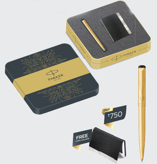 Parker Vector Gold Ball GT Pen Authorized Wholesaler Retailer Supplier Dealers in Kerala South India