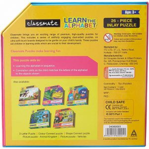 Classmate Learn The Alphabet Puzzle Age 3+ | Buy Bulk Online