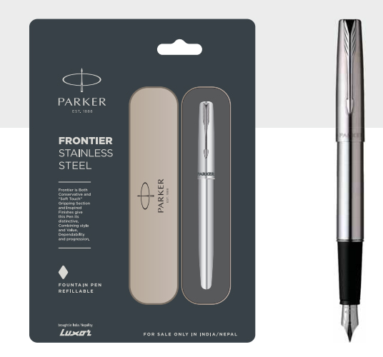 Parker Stainless Steel Fountain Pen Authorized Wholesaler Retailer Bulk Order Supplier Dealers In Kerala South India