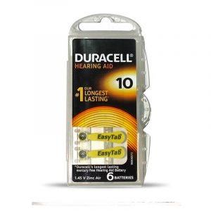 Duracell Hearing Aid Batteries  Easy tab Size 10 / 13 / 312 / 675 | Buy Bulk Online in Wholesale Price!