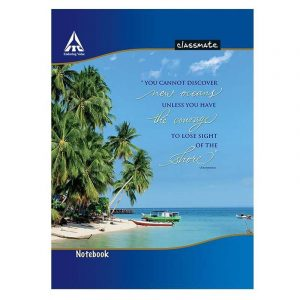 Classmate Notebook (190 X 155) 20 Pages | Four Lines With Gap | Center Stapled | Soft Cover | SKU: 2001164 | Buy Bulk Online