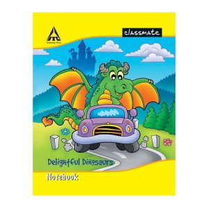 Classmate Notebook (190 X 155) 20 Pages | Single Lines | Center Stapled | Soft Cover | Buy Bulk Online