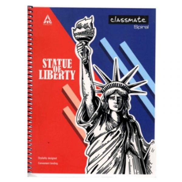 classmate spiral premium notebook (240 x 180) 200 pages single line soft cover mrp 60 sku 2001235 buy online authorized distributors wholesaler bulk order shop buy online supplier best lowest price dealers in kerala south india stockist