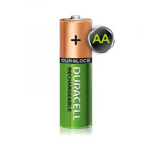 Duracell Recharge Ultra | AA2-2500 MAH | Green Rechargeable AA Batteries 2500 MAH with Duralock | Pack of 2 | SKU: 5000677 | Buy Bulk Online