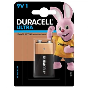 Duracell Ultra 9V Alkaline Battery with Duralock Technology | 9V 1BL | Pack of 1 | SKU: 5005409 | Buy Bulk Online