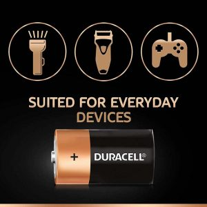 Duracell D Alkaline Battery with Duralock Technology | Pack of 2 | SKU: 5005412 | Buy Bulk Online