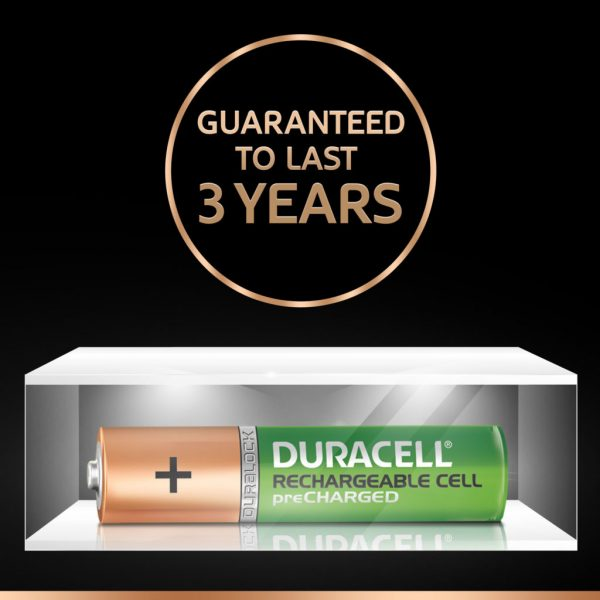 Duracell Recharge Plus- Green Rechargeable AAA Batteries with Duralock - Pack of 2 Pieces Authorized Distributors Wholesaler Exporter Shop Buy Online Supplier Best Lowest Price Dealers In Kerala South India