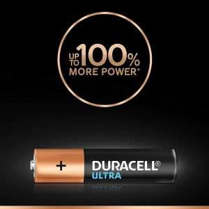Duracell AA 4BL Ultra Alkaline AA Batteries with Duralock Technology | Pack of 4 Pieces | SKU: 5005403 | Buy Bulk Online