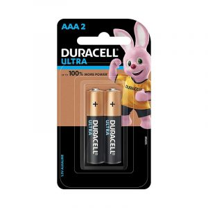 Duracell AAA 2BL Ultra Alkaline AAA Batteries with Duralock Technology- Pack of 2 Pieces SKU: 5005405 | Buy Bulk Online