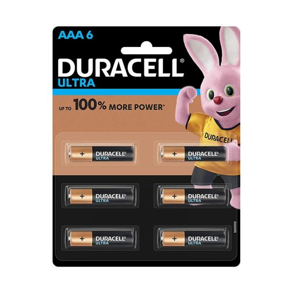 Duracell Ultra Alkaline AAA Batteries Battery with Duralock Technology Pack of 6 Pieces Authorized Distributors Wholesaler Exporter Shop Buy Online Supplier Best Lowest Price Dealers In Kerala South India