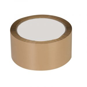 60 M/ 48 MM/ 40 Micron Self Adhesive Brown Tape | Omega Stationery | Buy Bulk Online