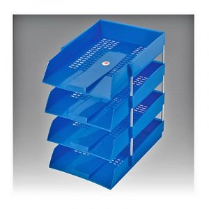 Office / Document Trays | Omega Stationery | Art No: 1718/PS | Buy Bulk Online