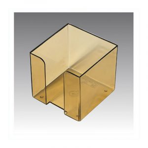 Square Memo Holder | Omega Stationery | Art No: 1771 | Buy Bulk Online