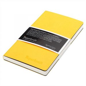 paperkraft signature series hard pu yellow cover with white page 165 x 95 160 pages unruled pu cover sku 2254006 mrp 275 buy online authorized distributors wholesaler bulk order shop buy online supplier best lowest price dealers in kerala south india stockist