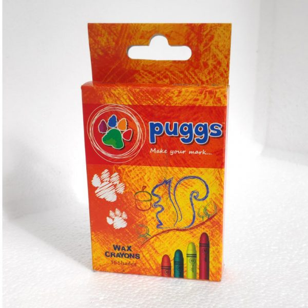 puggs wax crayons 16 shades color colour buy bulk online buy online authorized distributors wholesaler bulk order shop buy online supplier best lowest price dealers in kerala south india stockist