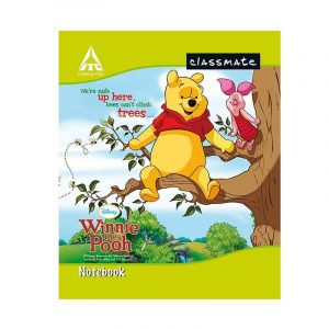 Classmate Notebook 2001154 | 24 Nos Pack | Short Size 190mm x 155mm, 20 Pages, Single Line, Soft Cover | Buy Bulk At Wholesale Price Online