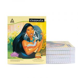 Classmate Notebook 2000207 | 18 Nos Pack | Short Size 190mm x 155mm, 92 Pages, Single Line, Soft Cover | Buy Bulk At Wholesale Price Online