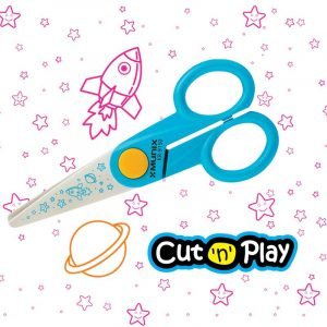 Munix Scissors | KR-9150 | 126 mm | Baby/Kids | School | Craft | Buy Bulk At Wholesale Price Online