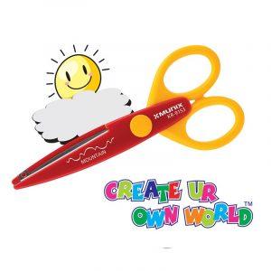 Munix Scissors | KR-9153 | 138 mm | Metal | Baby/Kids | School | Craft | Buy Bulk At Wholesale Price Online